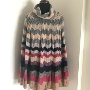 🧿Missoni Poncho or cape vintage Fabulous 70%wool